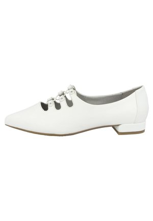 BARCELONA - Ankle strap ballet pumps - white (g25808-852-000)