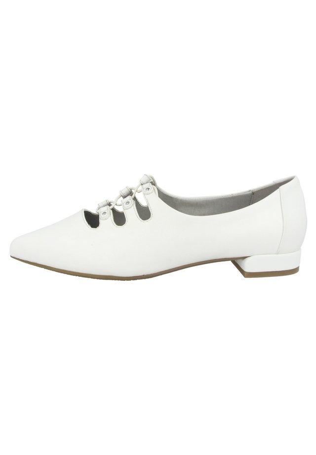 BARCELONA - Ballerina's met enkelbandjes - white (g25808-852-000)