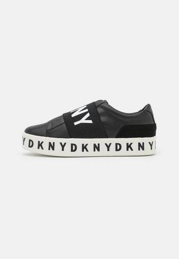 BECKY - Slip-ons - black