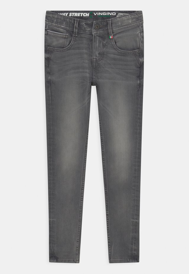 ENNIO - Jeans Skinny Fit - grey vintage