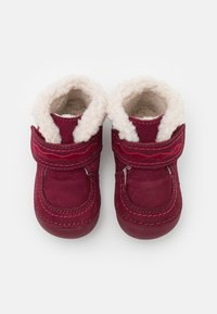 Kickers - SOETNIC UNISEX - Baby shoes - rose fonce - 3