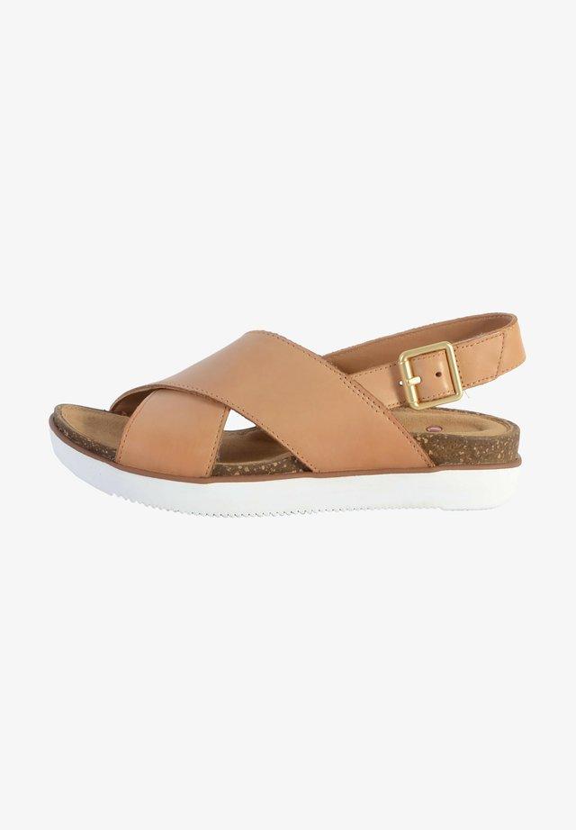 ELAYNE  - Sandales - cuir sable