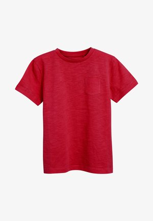 CREW NECK T-SHIRT (3-16YRS) - Basic T-shirt - red