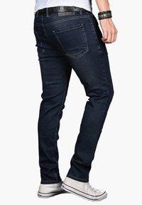 Alessandro Salvarini - Slim fit jeans - indigo - 3