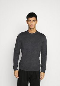 Topman - CREW 2 PACK - Trui - grey/green - 4