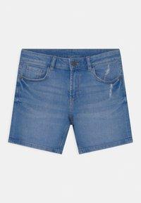 Marks & Spencer London - ROLL UP - Denim shorts - blue denim - 2