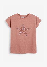 Next - STAR - Print T-shirt - pink - 2