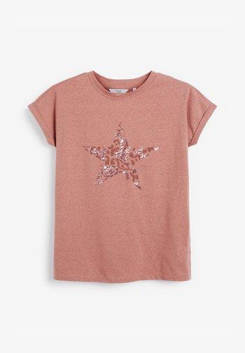 STAR - Print T-shirt - pink