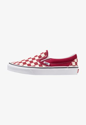 CLASSIC SLIP-ON  - Loaferit/pistokkaat - rumba red/true white