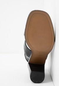 ALDO - FIELIA - Sandaler med høye hæler - black - 6