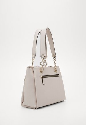 CHAIN GIRLFRIEND SATCHEL - Håndtasker - stone