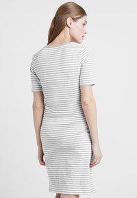 Boob - NIGHT DRESS - Negligé - white/grey melange - 2