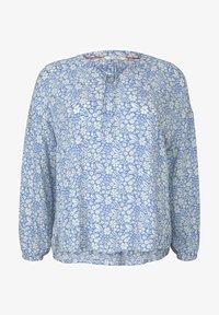 MY TRUE ME TOM TAILOR - Blouse - blue flower paisley - 2
