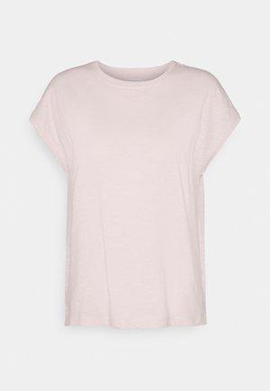 MINIMAL CAP SLEEVE TEE - T-shirt basic - pale pink