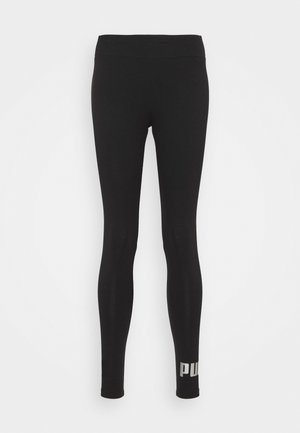 LEGGINGS - Tights - black/silver