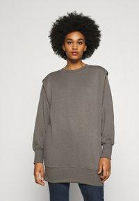 ONLY - ONLSVEA DETAIL - Sweatshirt - dark grey - 0