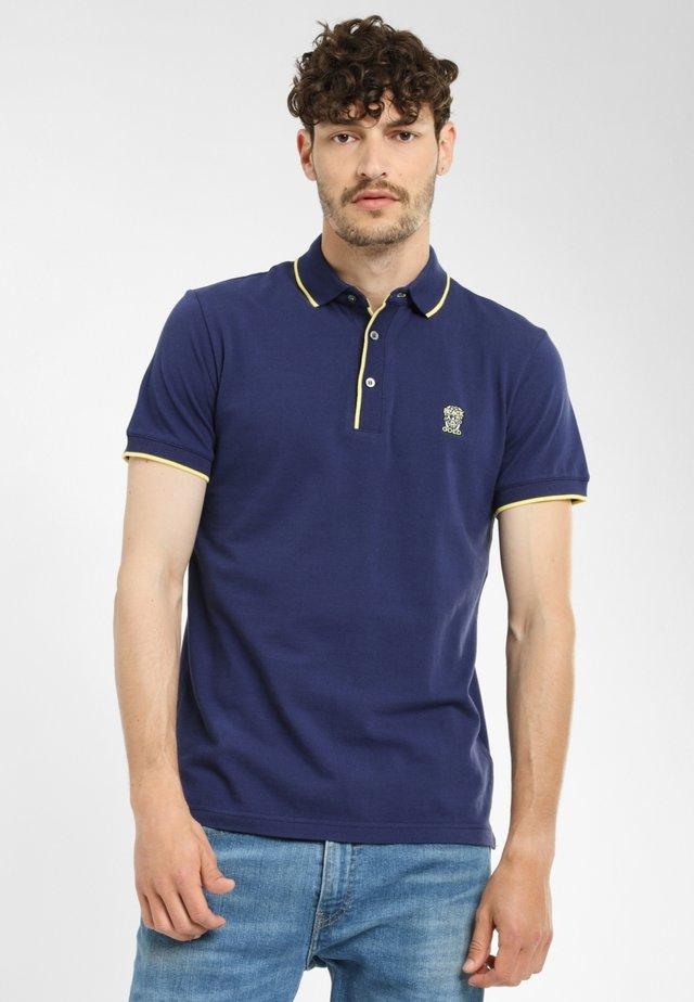 TIPO - Poloshirt - navy yellow