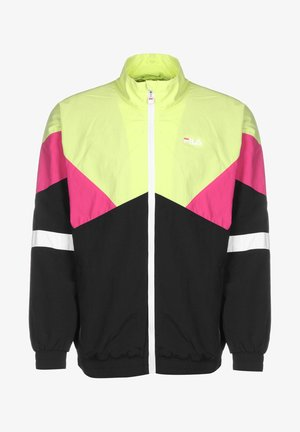 BAN - Training jacket -  green/pink/white
