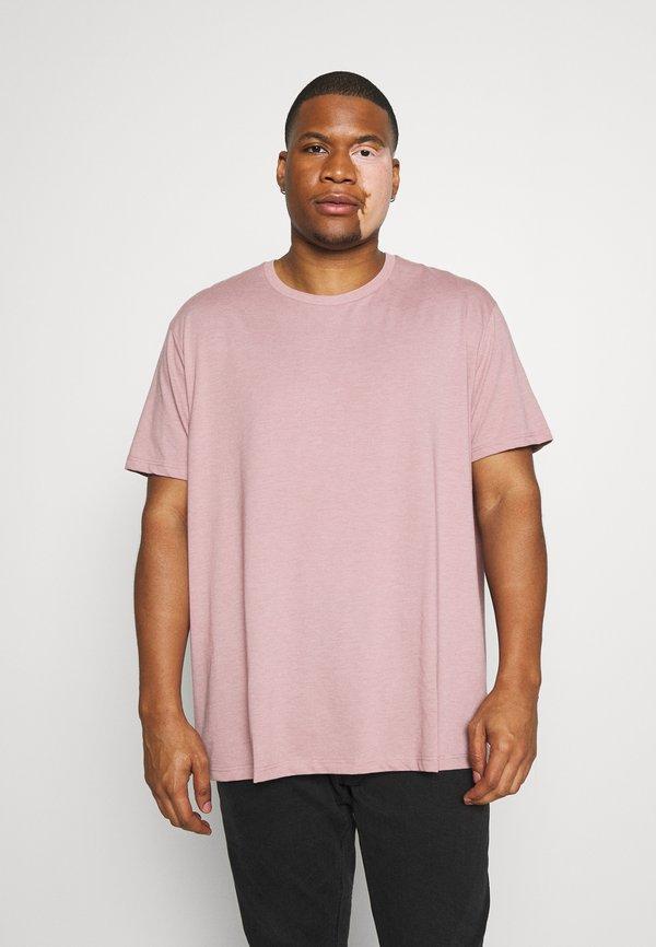 Burton Menswear London BASIC 5 PACK - T-shirt basic - purple/khaki/pink/fioletowy Odzież Męska QFOC