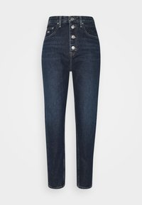 Tommy Jeans - MOM - Relaxed fit jeans - deep blue - 4