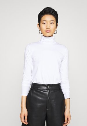 CHIE TURTLENECK - Long sleeved top - white