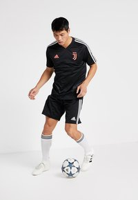 adidas Performance - JUVENTUS TURIN TR JSY - Club wear - black/dark grey - 1