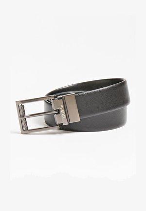 WENDE LUXE ECHTES - Belt business - schwarz