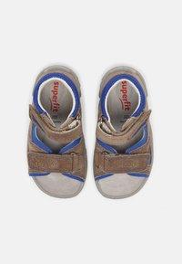 Superfit - Sandals - beige/blau - 3