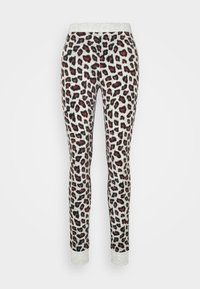 Hunkemöller - LEGGING LEOPARD - Pyjama bottoms - grey - 3