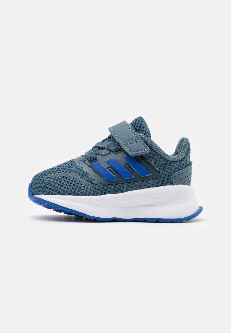adidas Performance - RUNFALCON I UNISEX - Neutrální běžecké boty - legend blue/royal blue/signal green