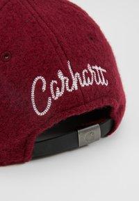 Carhartt WIP - PEMBROKE - Czapka z daszkiem - mulberry/wax - 6