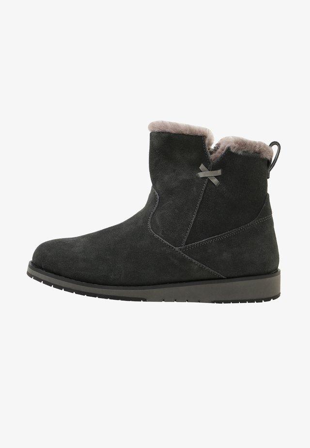 Winter boots - dark grey