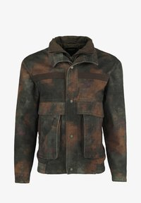 Tigha - MILITARY - Denim jacket - blurry camo - 4