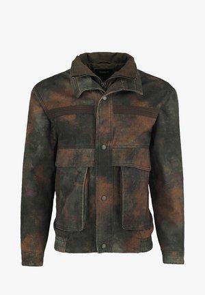 MILITARY - Denim jacket - blurry camo