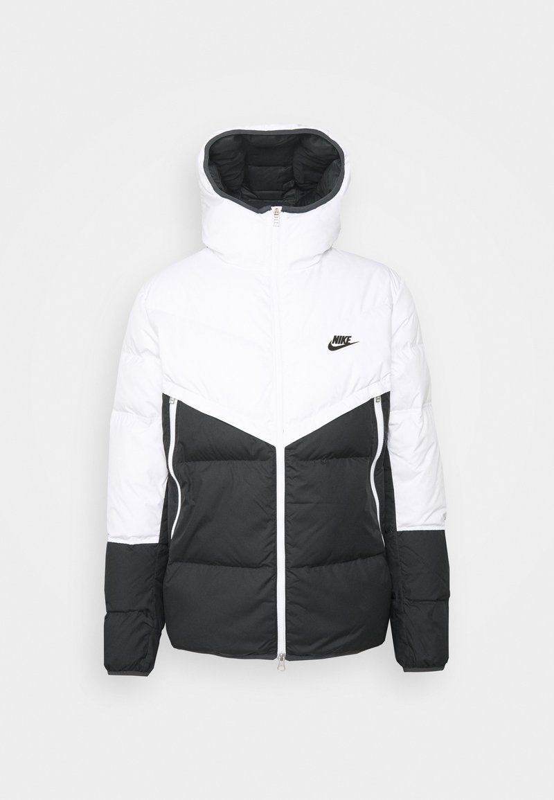 Nike Sportswear - Piumino - white/dark smoke grey/black