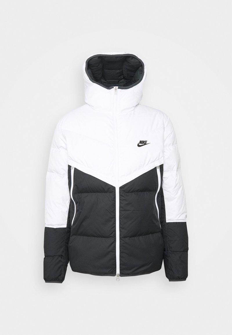 Nike Sportswear - Down jacket - white/dark smoke grey/black