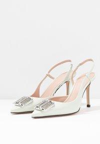 HUGO - PIPER SLING - High heels - light pastel green - 4