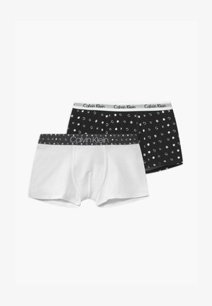 TRUNKS 2 PACK - Pants - white/black