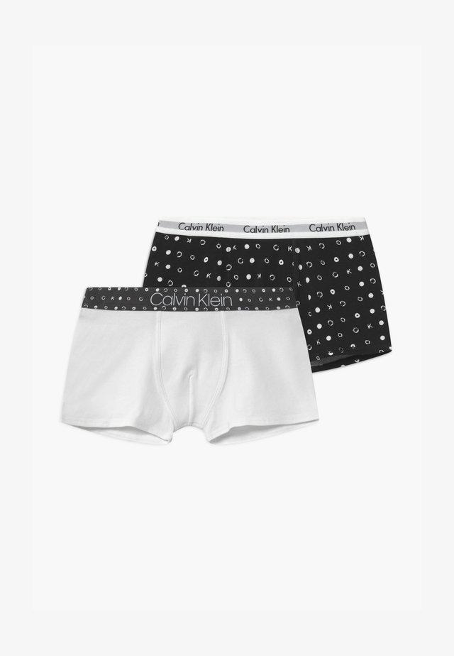 TRUNKS 2 PACK - Pants - white/black