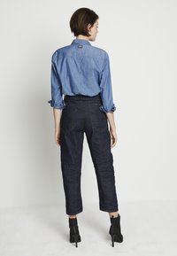 G-Star - C-STAQ 3D BOYFRIEND CROP WMN C 3D RAW DENIM WOMEN - Straight leg jeans - 3d raw denim - 0