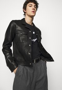 PS Paul Smith - MENS FACE - T-Shirt print - black - 3