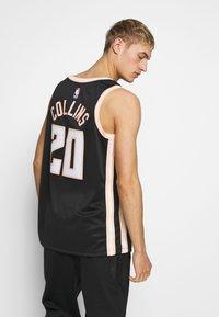 Nike Performance - NBA CITY EDITION ATLANTA HAWKS JOHN COLLINS SWINGMAN - Club wear - black - 2