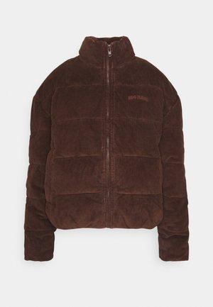 Winter jacket - chocolate