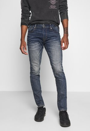 SLIM TAPER - Jeans Tapered Fit - dark indigo