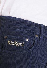 Kickers Classics - SLIM TROUSERS - Trousers - navy - 4