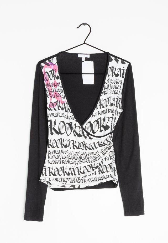 Longsleeve - black, white, pink