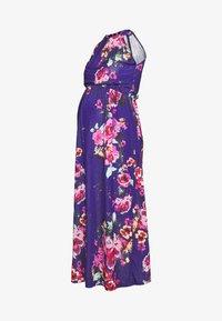 Anna Field MAMA - Vestido ligero - pink/blue - 4