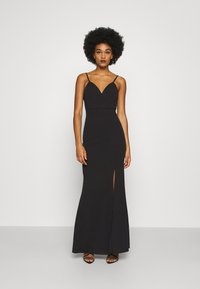 WAL G. - ANNALISE HIGH SPLIT MAXI DRESS - Occasion wear - black - 0