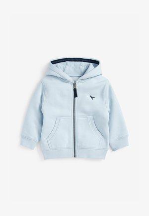 ESSENTIAL - Zip-up sweatshirt - light blue