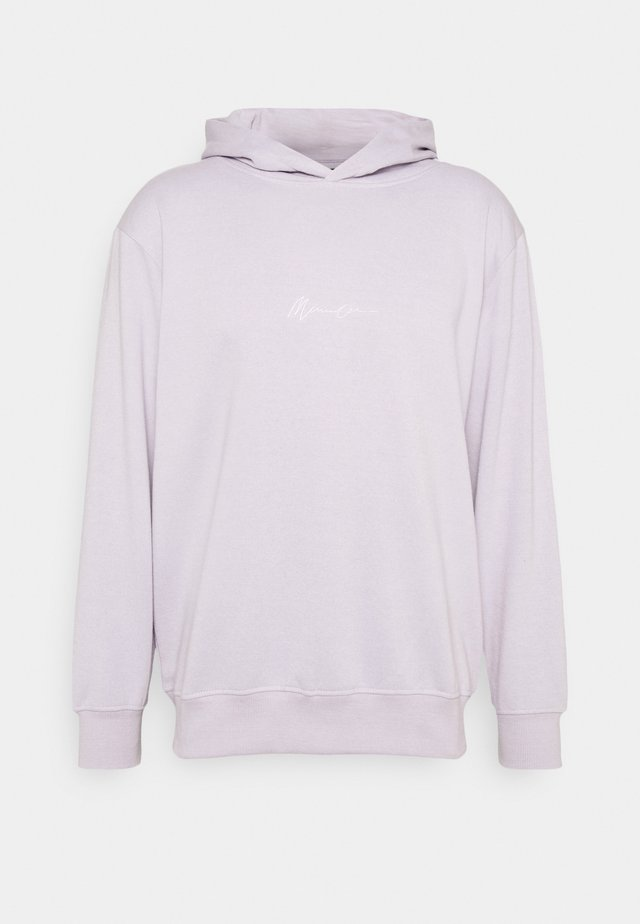 ESSENTIAL HOODIE UNISEX - Bluza z kapturem - purple